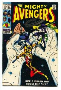AVENGERS #64 comic book 1969-MARVEL-CAPTAIN AMERICA-VG/FN