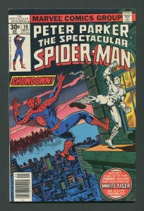 Peter Parker,Spectacular Spiderman #10 / 5.0  VG/FN  September 1977