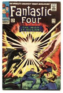 FANTASTIC FOUR #53 Black Panther origin-1st Ulysses Klaw FN-