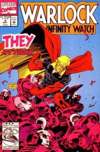 Warlock and the Infinity Watch #4, NM- (Stock photo)