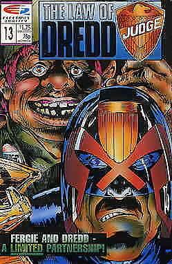 Law of Dredd, The #13 VF/NM; Fleetway Quality | save on shipping - details insid