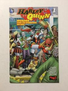 Harley Quinn Invades Comic-con International San Diego 1 NM Near Mint