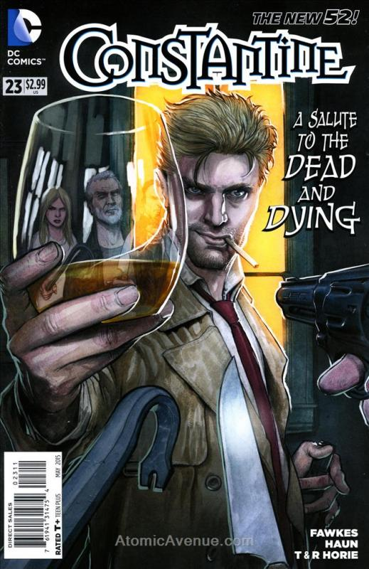 Constantine #23 VF/NM DC - save on shipping - details inside
