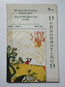 Nekromantikon Amateur Magazine of Weird&Fantasy v1 #4 Winter 1950-51 Lin Carter