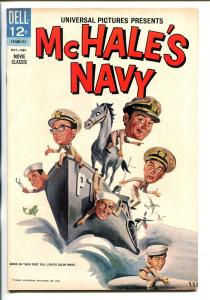MCHALE'S NAVY  1964-DELL-ERNEST BORGNINE-TIM CONWAY-JOE FLYNN-MOVIE EDITION-vf-