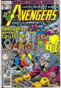 Avengers #174 ORIGINAL Vintage 1978 Marvel Comics Korvac Saga