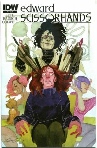 EDWARD SCISSORHANDS #2, NM, Drew Rausch, Kate Leth, 2014, more IDW in store