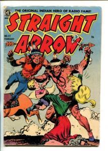 STRAIGHT ARROW  #22-1952-ME-FRANK FRAZETTA-MOTHER CHILD RESCUE COVER-vg
