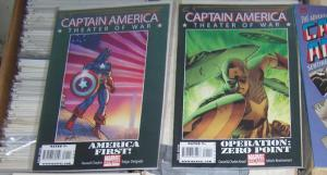 CAPTAIN AMERICA THEATER OF WAR+ AMERICA FRST+ZERO POINT #1 ONE SHOTS