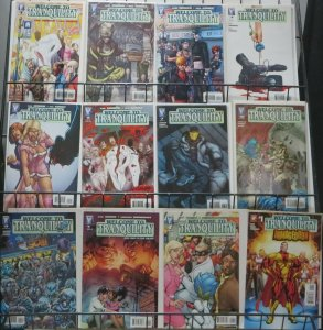 WELCOME TO TRANQUILITY COLLECTION! 12 BOOKS! Gail Simone, Neil Googe VF-NM
