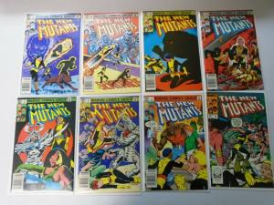 New Mutants Lot From:#1-97 + Ann:#1-4 + Special, 72 Different 8.0/VF (1983-1991)