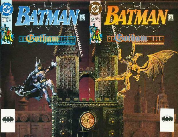 BATMAN 477-478  A Gotham Tale  vs The GARGOYLE!