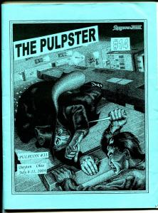 Pulpster #14 2004-program book for Pulpcon #31-loaded with pulp info-FN/VF