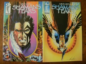 IMAGE Comic Book (1995) SHAMAN'S TEARS #8 & #9