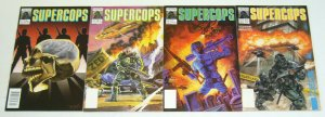 Supercops #1-4 VF/NM complete series - chuck dixon - now comics super cops 2 3