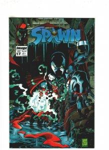 Spawn #17 VF/NM 9.0 Image Comics Todd McFarlane & Greg Capullo, 1st Anti-Spawn
