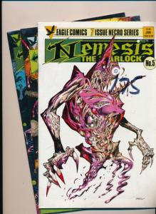 Eagle Comics LOT OF 3 NEMESIS The Warlock #5,6,7 VERY FINE/NEAR MINT (HX805)
