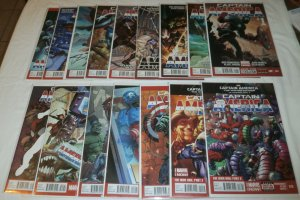 Captain America   vol. 7   #1-5,13,14,16-20,22-25 (set of 16) 2013 Remender