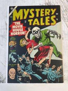 Mystery Tales #17 F+ 6.5 pre-code HORROR atlas publishing good girl CLASSIC 1954