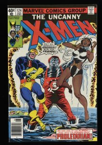 X-Men #124 VF+ 8.5 White Pages
