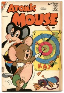 Atomic Mouse #28 1958-Charlton funny animals VG-