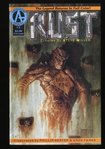 Rust #1 FN/VF 7.0 1st Spawn appearance in an ad by Todd McFarlane!