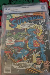 Superman #315 (DC, 1977) CBCS NM 9.4 White pages