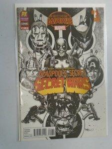 Deadpool's Secret Secret Wars #1 C C2E2 Variant cover 8.0 VF (2015)