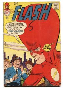 THE FLASH #177 1968-DC COMICS Big Head cover