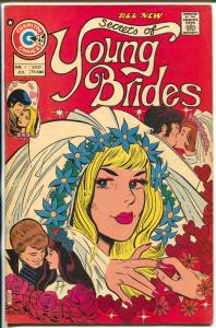 Secrets of Young Brides #1 1975-Charlton-1st issue-swimsuit panels-VG-