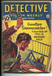Detective Fiction Weekly 9/23/1939-Hero pulp-Daffy Dill by Richard Sale-Crime...