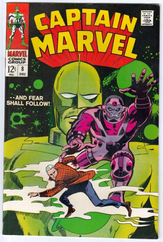 Captain Marvel #8 (Dec-68) VF/NM High-Grade Captain Marvel