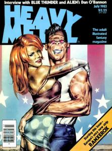 Heavy Metal #77 VF/NM; Metal Mammoth   save on shipping - details inside