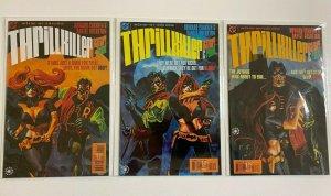 Thrillkiller Batgirl and Robin set #1-3 6.0 FN (1997)
