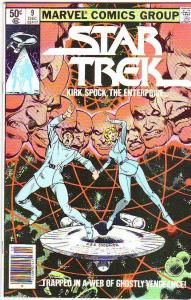 Star Trek #9 (Dec-84) NM/NM- High-Grade Captain Kirk, Mr Spock, Bones, Scotty