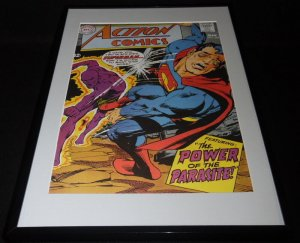 Action Comics #361 Parasite Framed 11x17 Cover Photo Poster Display Official RP