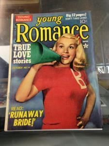 Young Romance #14 (Vol.3 #2)  VG- (Prize 1950) Simon/Kirby Art