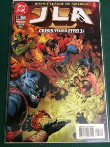 JLA #28 Crisis Times Five! 1 of 4