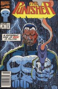 PUNISHER  (1987 Series)  (MARVEL) #76 NEWSSTAND Near Mint Comics Book
