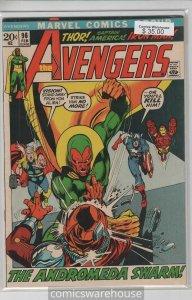 AVENGERS (1963 MARVEL) #96 FN+ A08516