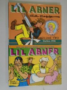 Li'l Abner HC lot 6 different titles