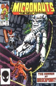 Micronauts (1984 series) #11, NM- (Stock photo)