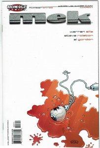 Mek #3 Homage Comics Warren Ellis NM