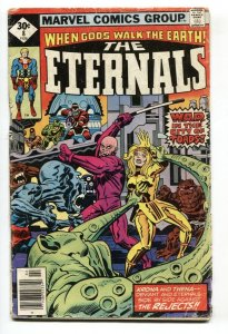 THE ETERNALS #8 1st  Karkas-Comic Book Marvel 1976 G