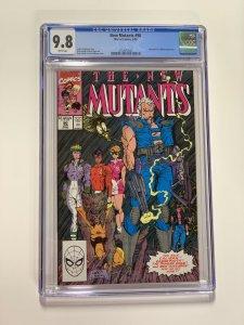 New Mutants 90 Cgc 9.8 White Pages Marvel X-men Copper Age