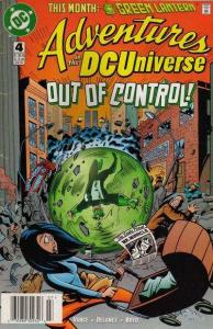 Adventures in the DC Universe #4, NM + (Stock photo)