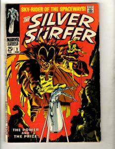 Silver Surfer # 3 FN- Marvel Comic Book Avengers Fantastic Four Galactus GK1