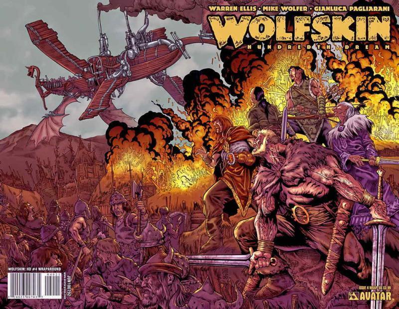 Wolfskin: Hundredth Dream #4A VF; Avatar | save on shipping - details inside