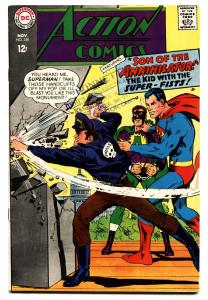 ACTION COMICS #356 comic book 1966-SUPERMAN-SON OF ANNIHILATOR FN/VF