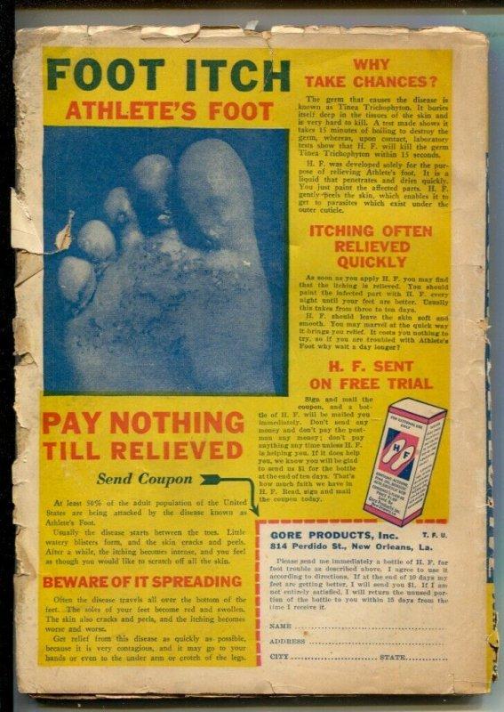 Popular Detective 6/1943-Thrilling-Scarecrow menace and Gun Moll cover-headli...